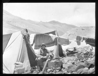 Irvine in camp